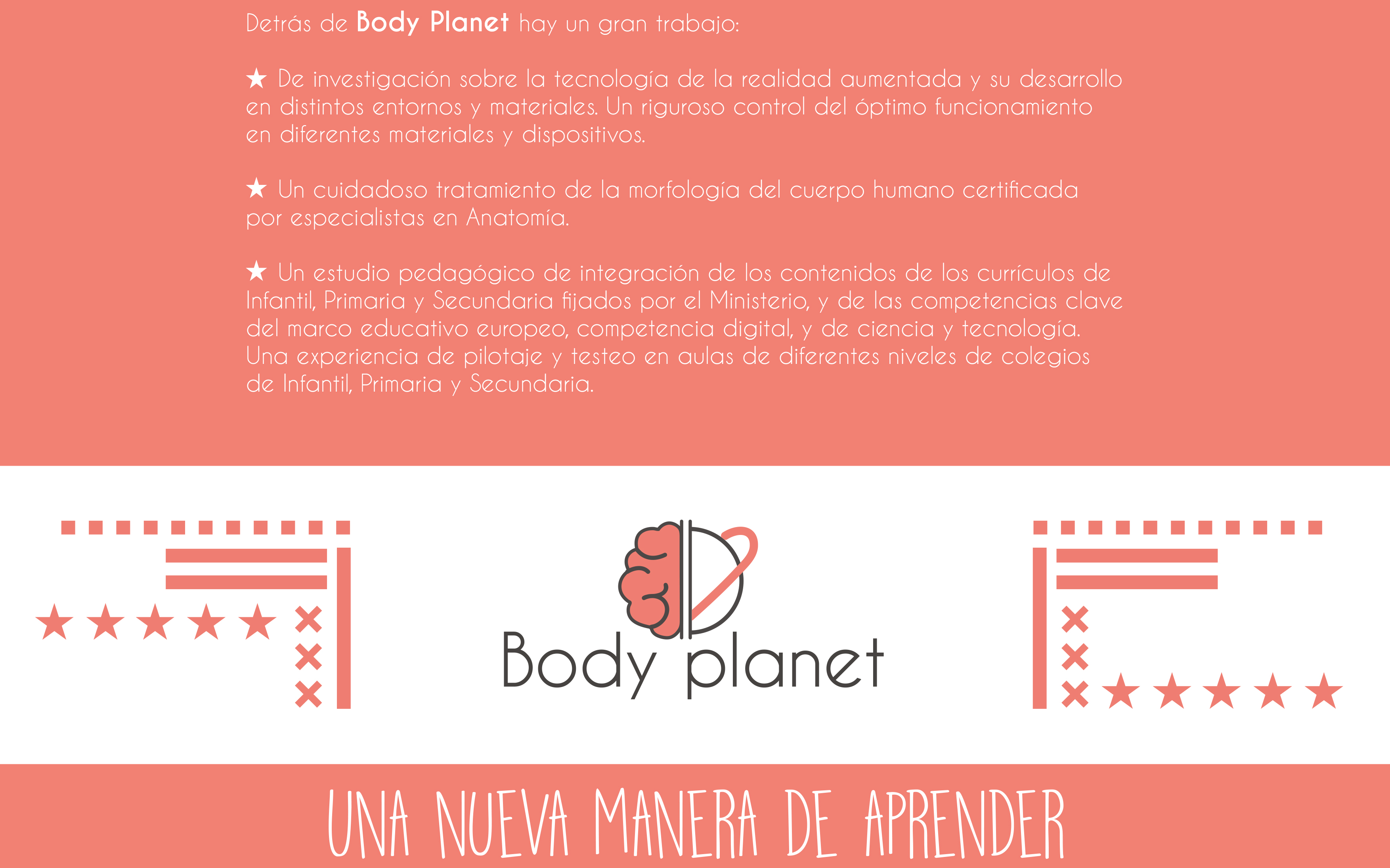 Body planet aula enseñanza