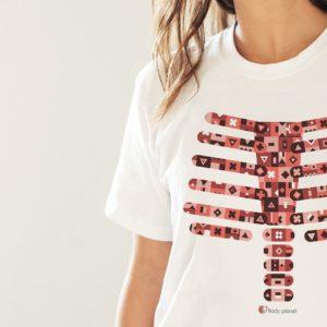 camiseta Body planet tienda luguete educativo