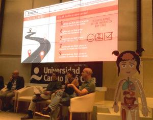 Body planet presenta resultados en la Universidad Camilo José Cela