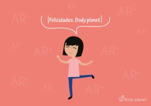 Body planet cumple dos años. Este es el año de Amparo