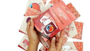 Dela camiseta mágica a Body cards, cartas realidad aumentada