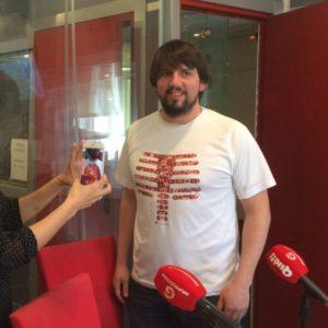 Javier Regueiro, de la camiseta mágica a Body cards